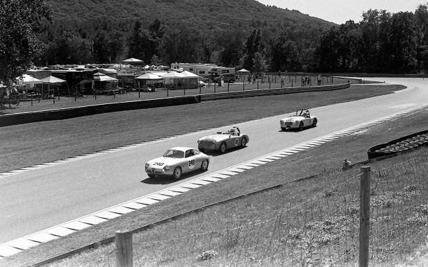 Alfa, Healey, MGA racing